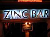 Zinc Bar, NYC